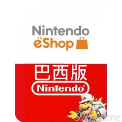 巴西Nintendo 任天堂預付卡(適用3DS / NDSI / WII / SWITCH)