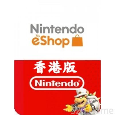 香港Nintendo 任天堂預付卡(適用3DS / NDSI / WII / SWITCH)