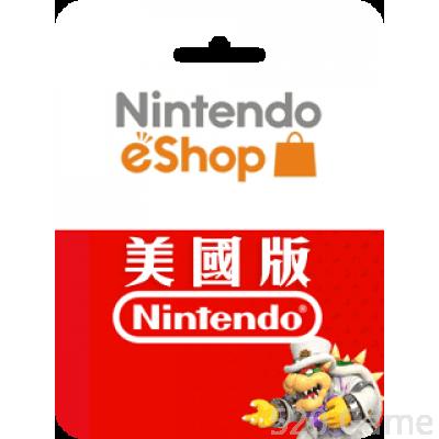 美國Nintendo 任天堂預付卡(適用3DS / NDSI / WII / SWITCH)