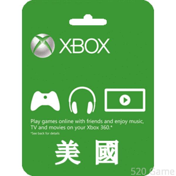 美服Xbox LIVE Gift Card