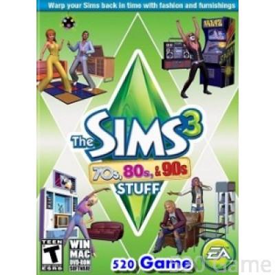 The Sims 3 70s, 80s & 90s Stuff 模擬市民3:70、80及90年代組