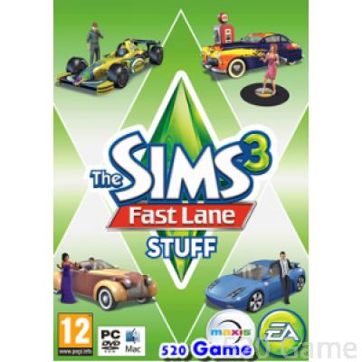 The Sims 3:Fast Lane Stuff《模擬市民3:慾望街車組合》