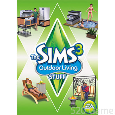 PC TheSims3:outdoor living stuff模擬市民3:休閒生活組合