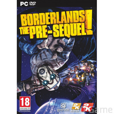 PC Borderlands:The Pre-Sequel《邊緣禁地:續集前傳》【英文版】