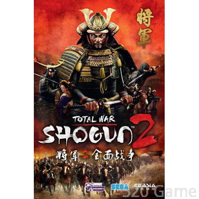 PC Total war shogun 2《 全軍破敵:將軍2》 英文版