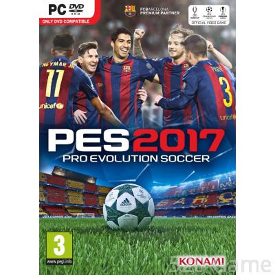 PC 世界足球競賽 2017 (Pro Evolution Soccer 2017) 中