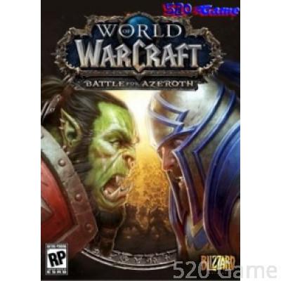 【PC】《魔獸世界:決戰艾澤拉斯》 WORLD OF WARCRAFT: BATTLE FOR AZEROTH【一般/典藏】【英文】