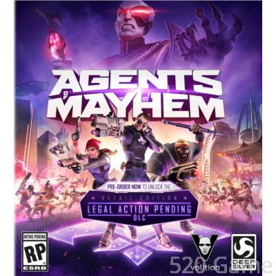 PC Agents of Mayhem《黑街特務》英文