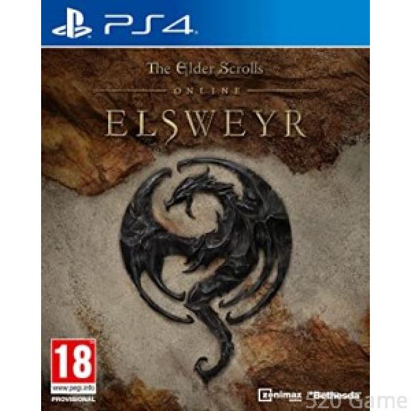 PS4  上古卷軸 Online:Elsweyr  The Glder Scrolls Online:ELSWEYR (英文版)