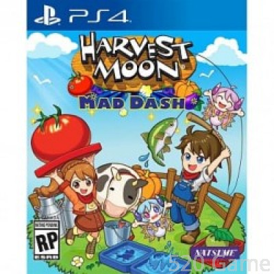 PS4  豐收之月 Harvest Moon: Mad Dash (中英合版)