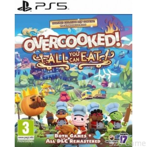 PS5 胡鬧廚房 Overcooked!All You Can Eat (中英文版)
