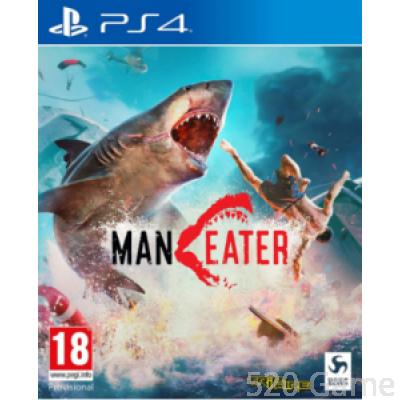 PS4 食人鯊 Maneater (亞洲版)