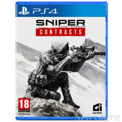 PS4  狙擊之王:幽靈戰士 契約. Sniper: Ghost Warrior Contracts (繁中/簡中/英文版)